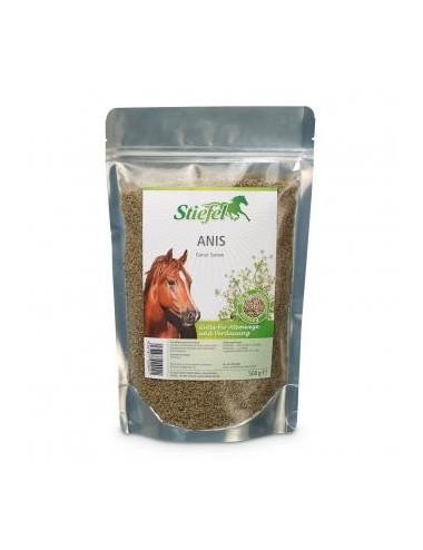 Stiefel Anis- Schmackhaftes Kräuterfutter für Pferde gutes für Atemwege und Verdauung