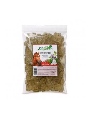 Stiefel Kräuterlix- Kräuterbonbons für Pferde als kräuterreiche Belohnung