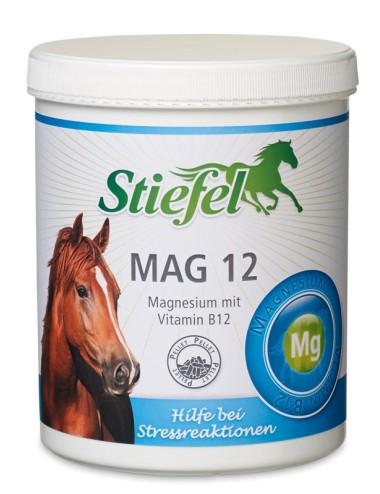 Stiefel Mag 12 Pellet- Ergänzungsfutter mit Magnesium für nervöse Pferde