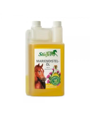 Stiefel Mariendistelöl - zur Unterstützung des Stoffwechsels Ihres Pferdes