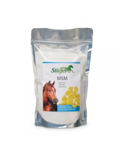 Stiefel MSM- Natürliches Einzelfuttermittel mit Schwefelverbindung für Pferde