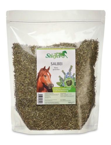 Stiefel Salbei- Kräuterfutter für Pferde