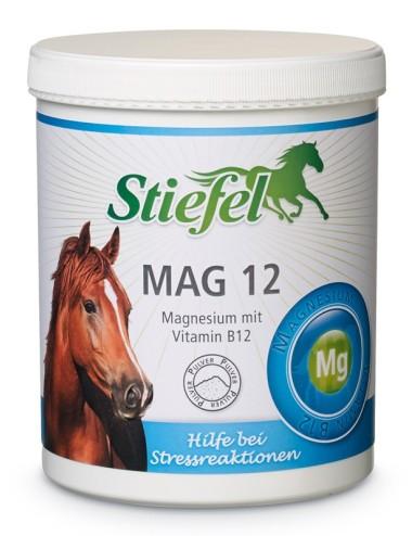Stiefel Mag 12 Pulver- Ergänzungsfutter für nervöse Pferde