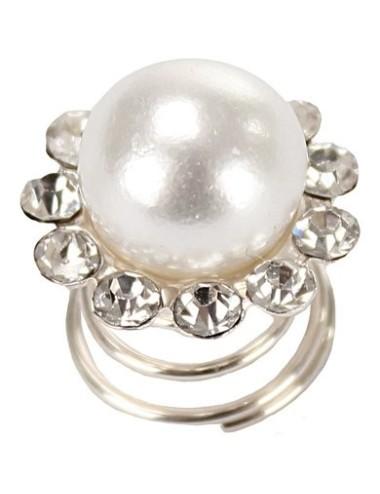Haarspirale Perle