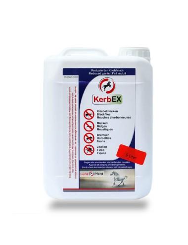 KerbEx blau - Insektenabwehrmittel mit reduziertem Knoblauch für Pferde