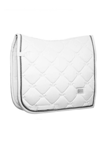 Equestrian Stockholm Dressurschabracke white perfection silver