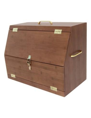 Grooming Deluxe Zubehörbox Show Grooming Box braun