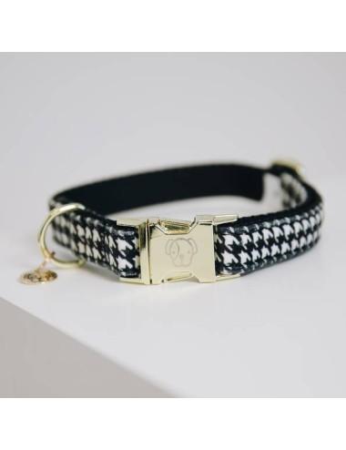 Kentucky Hundehalsband Pied-de-Poule